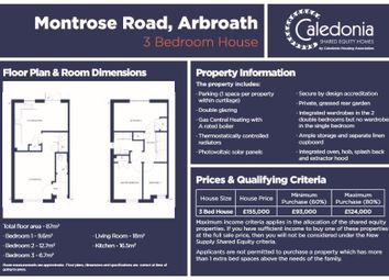 Thumbnail 3 bed property for sale in Montrose Road, Arbroath