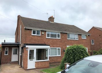 Thumbnail 3 bed semi-detached house to rent in Harport Road, Redditch