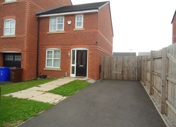 Thumbnail 3 bed end terrace house for sale in Barsham Close, Manchester