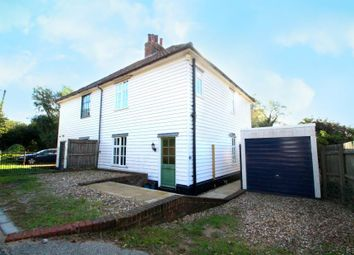 Thumbnail 3 bed semi-detached house to rent in Wood Cottages, Chillesford, Woodbridge