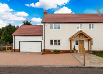 Thumbnail 3 bed semi-detached house for sale in Nazeing Common, Nazeing, Essex
