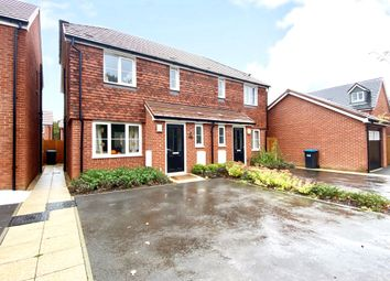 Thumbnail 3 bed semi-detached house for sale in Atlas Crescent, Burgess Hill