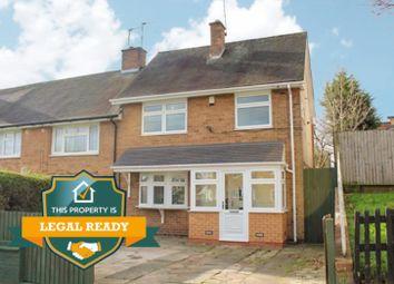 3 bed end terrace house for sale in Schofield Road, Kingshurst, Birmingham B37