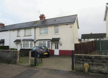 Thumbnail 2 bedroom end terrace house for sale in Snowden Road, Cardiff