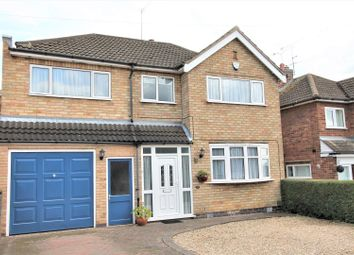 Thumbnail 5 bed detached house for sale in Bollington Road, Oadby, Leicester
