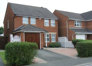 Thumbnail 3 bed detached house for sale in Kensington Road, Coalville