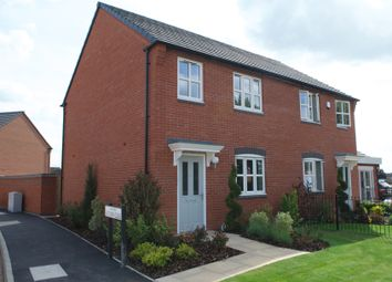 Thumbnail 3 bed semi-detached house for sale in Balmoral Drive, Grantham