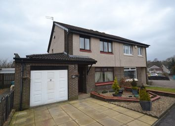 Thumbnail 4 bed semi-detached house for sale in Barbeth Road, Cumbernauld