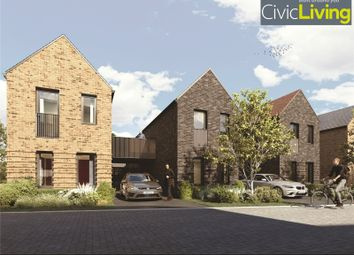 Thumbnail 2 bed link-detached house for sale in Civic Living, Alconbury Weald, Cambridgeshire