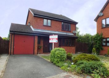 Thumbnail 3 bedroom detached house for sale in Osier Court, Eaton Ford, St. Neots