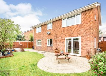 Thumbnail 4 bed detached house for sale in Warren Drive, Abbotts Ann, Andover