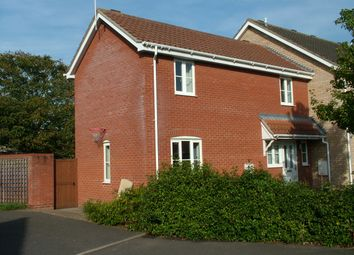 Thumbnail 2 bed end terrace house for sale in Poplar Close, Long Stratton, Norwich