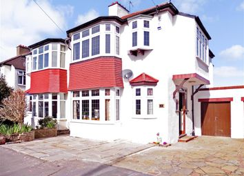 Thumbnail 3 bed semi-detached house for sale in The Vale, Shirley, Surrey