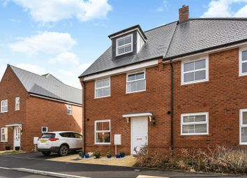 Thumbnail 3 bed semi-detached house for sale in Spindle Close, Andover Down, Andover