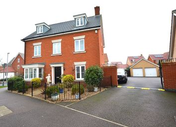Thumbnail 5 bed detached house for sale in Burgattes Road, Little Canfield, Dunmow