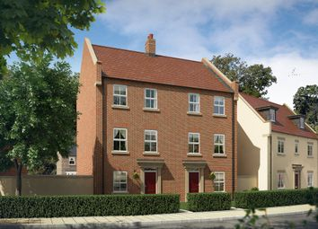 "Thumbnail 4 bedroom town house for sale in ""The Ash"" at Perth Road, Bicester"