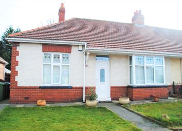 Thumbnail 2 bed semi-detached bungalow for sale in Richmond Avenue, Gateshead