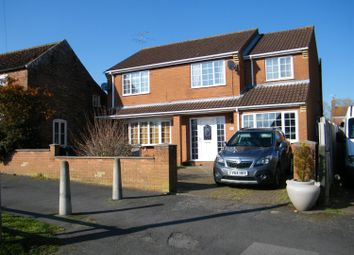 Thumbnail 4 bed detached house for sale in The Causeway, Burgh Le Marsh, Skegness