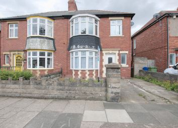 Thumbnail 3 bedroom semi-detached house for sale in Plessey Road, Blyth