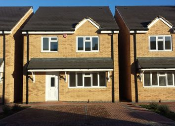 Thumbnail 4 bed detached house to rent in Evington Valley Garden, Evington, Leicester