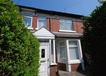 Thumbnail 3 bedroom terraced house for sale in Newbiggin Road, Ashington