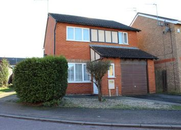 Thumbnail 3 bed detached house for sale in Bollinger Close, Duston, Northampton