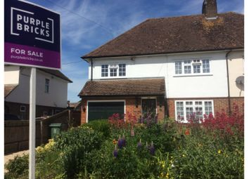 Thumbnail 4 bed semi-detached house for sale in Dunstable Road, Dagnall, Berkhamsted