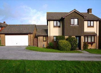 Thumbnail 4 bed detached house for sale in Penhale Road, Falmouth