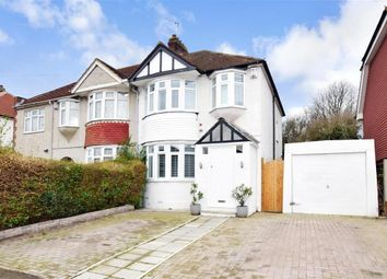 Thumbnail 3 bed semi-detached house for sale in Jersey Road, Strood, Rochester, Kent