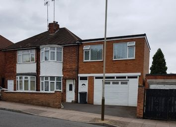 Thumbnail 4 bed semi-detached house to rent in Jean Drive, Leicester