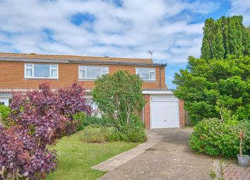 Thumbnail 3 bedroom semi-detached house for sale in Tudor Close, Seaford