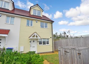 Thumbnail 3 bed end terrace house for sale in Friars Close, Peacehaven, East Sussex
