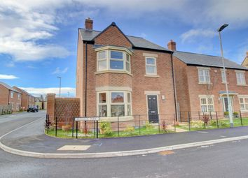 Thumbnail 4 bed detached house for sale in Fenwick Park, Longframlington, Morpeth