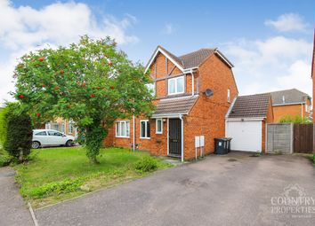 Thumbnail 3 bed semi-detached house for sale in Prudden Close, Elstow, Bedford
