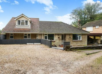 Thumbnail 4 bed detached bungalow for sale in Carisbrooke High Street, Carisbrooke