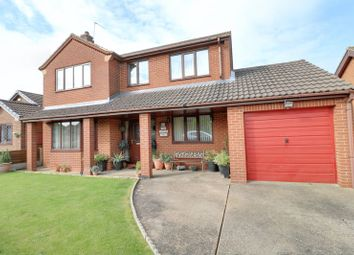 Thumbnail 4 bedroom detached house for sale in Holme Drive, Burton-Upon-Stather, Scunthorpe