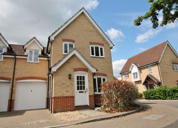 Thumbnail 3 bed link-detached house to rent in Carpenters Drive, Great Notley, Braintree
