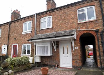 Thumbnail 2 bed terraced house for sale in Heath Bank Cottages, Birchin Lane, Nantwich