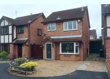 Thumbnail 3 bed detached house for sale in Merlin Way, Crewe