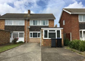 Thumbnail 5 bed semi-detached house to rent in Mead Way, Canterbury