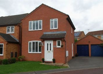 Thumbnail 3 bedroom detached house for sale in Hawkstone Close, Duston, Northampton