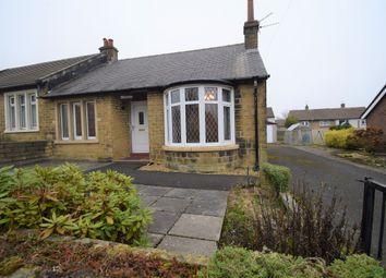 Stainecross Avenue, Crosland Moor, Huddersfield HD4. 2 bed semi-detached bungalow for sale