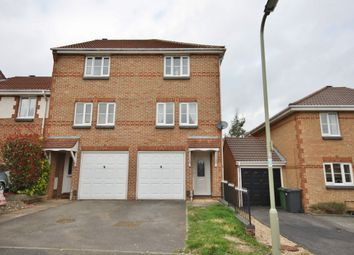 Thumbnail 3 bed town house to rent in Lovage Road, Whiteley, Fareham