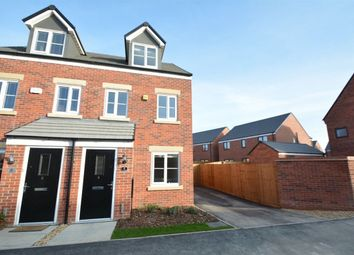 Thumbnail 3 bedroom property to rent in Clovelly Drive, Hampton Gardens, Peterborough
