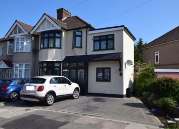 Thumbnail 4 bed semi-detached house for sale in Havering Gardens, Chadwell Heath, Romford