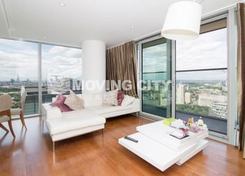 Thumbnail 2 bed flat for sale in Landmark East Tower, 24 Marsh Wall, Canary Wharf