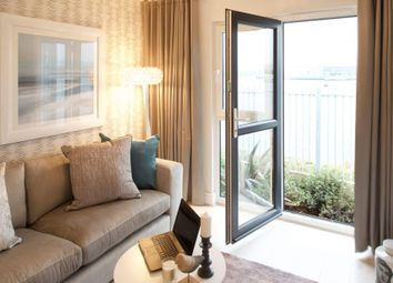 Thumbnail 3 bed flat for sale in Plot 25, Meridian Waterside, Southampton