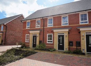 Thumbnail 2 bed terraced house to rent in Alder Close, Peterborough