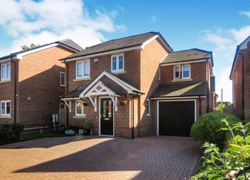 Thumbnail 4 bedroom detached house for sale in Grazeley Road, Three Mile Cross, Reading