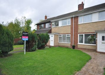 Thumbnail 3 bed detached house to rent in Hornbrook Close, Horninglow, Burton-On-Trent